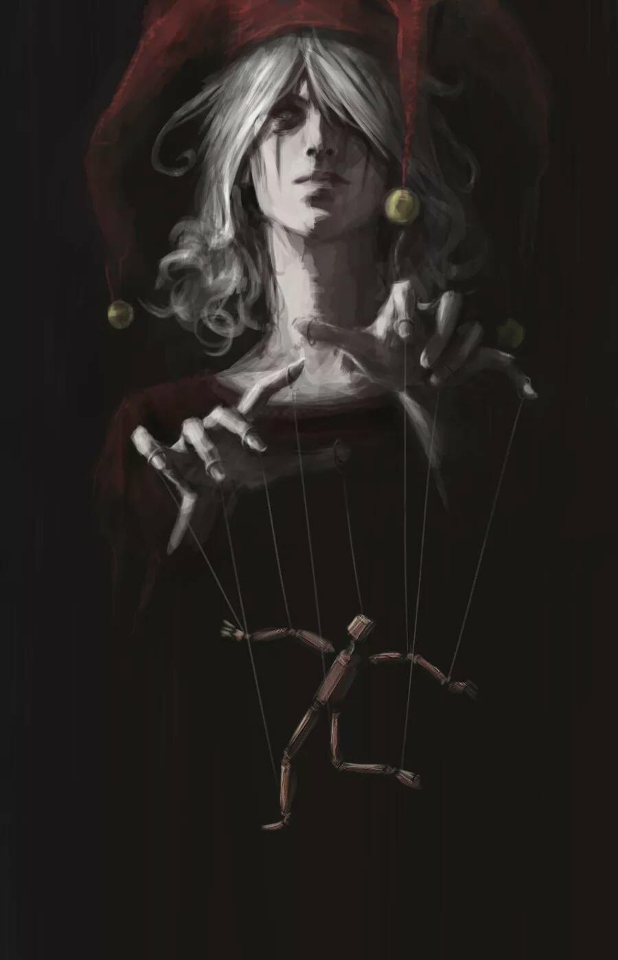 Картинка мужчина кукловода