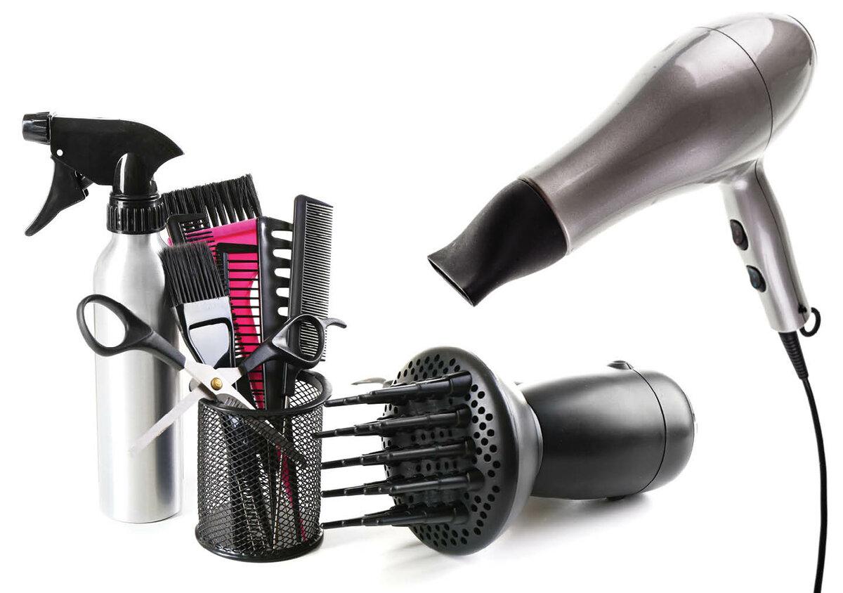 Картинки парикмахерские принадлежности
