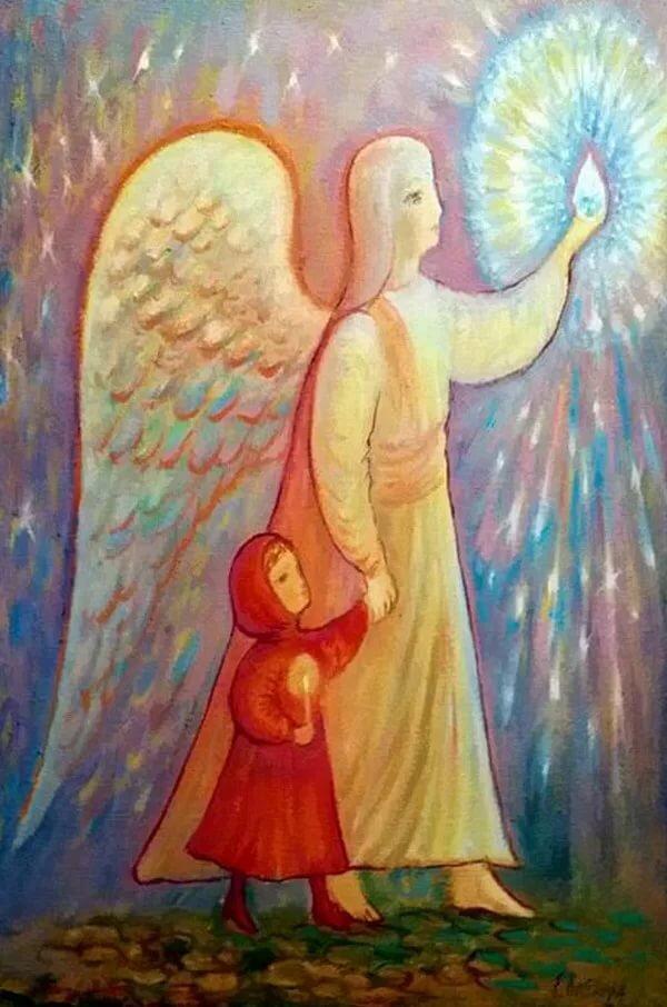 Рисунок ангелы мира