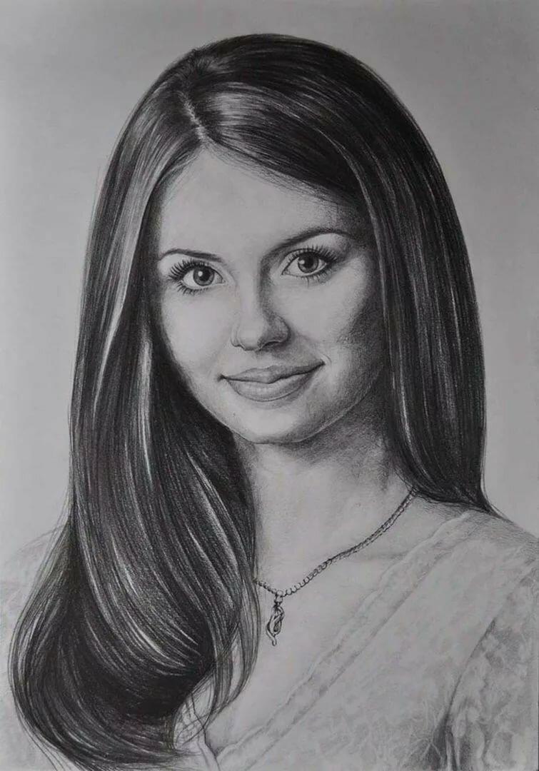 Картинка рисование портрета