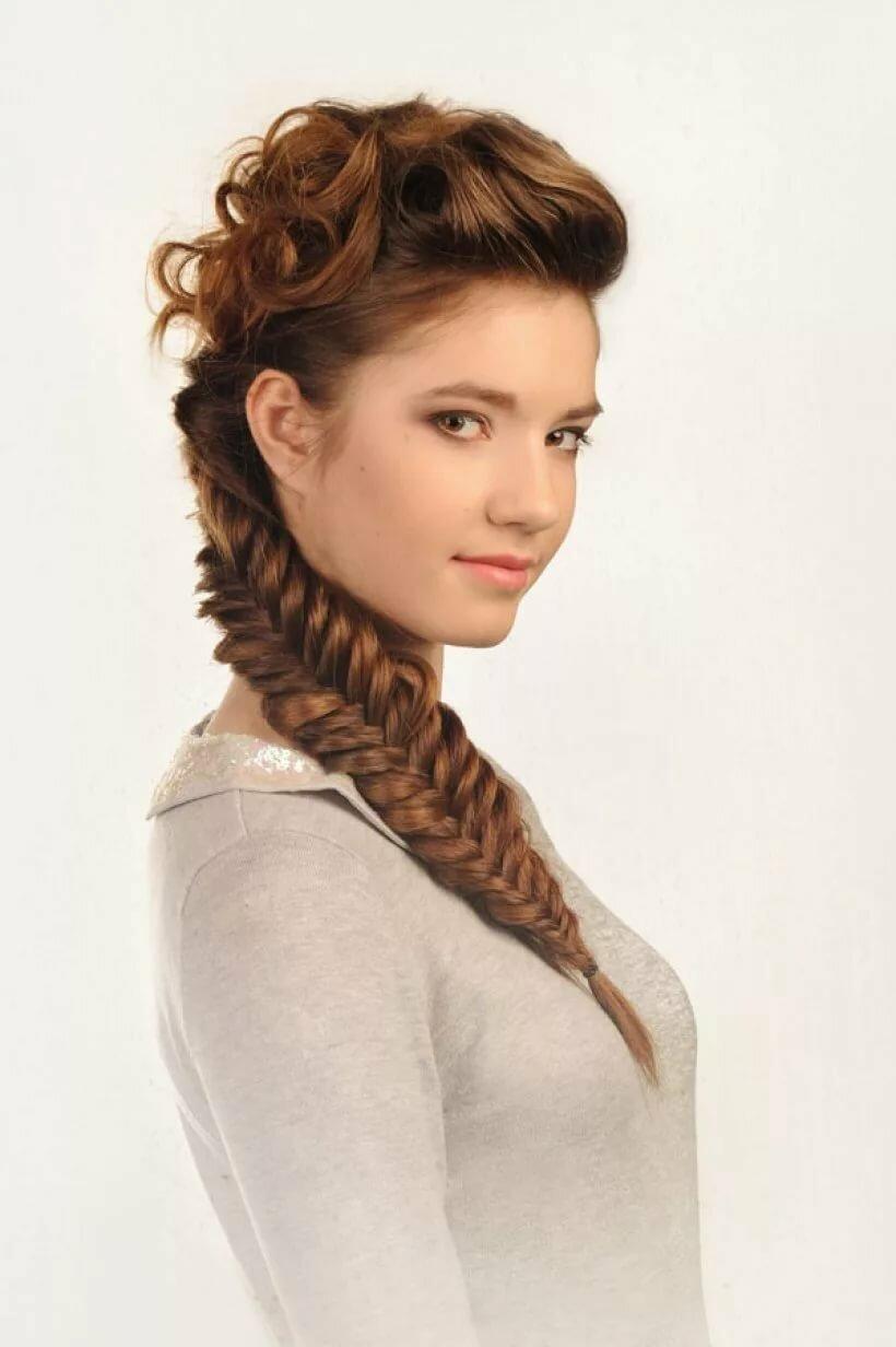 прически на длинные волосы с косами в картинках число
