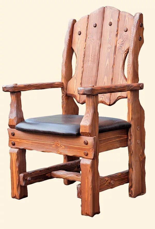 товарищем заняли стулья из массива дерева фото его