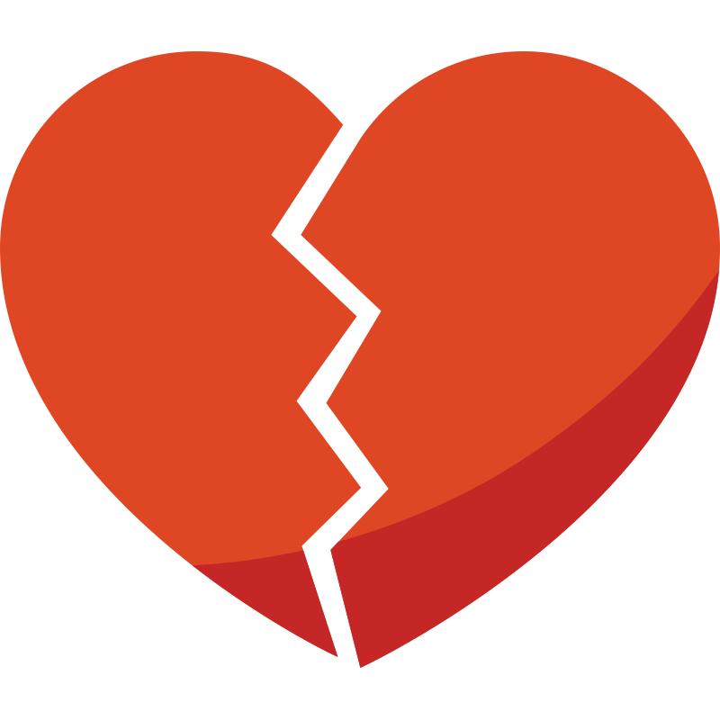картинки разбитое сердце мультяшные дунай