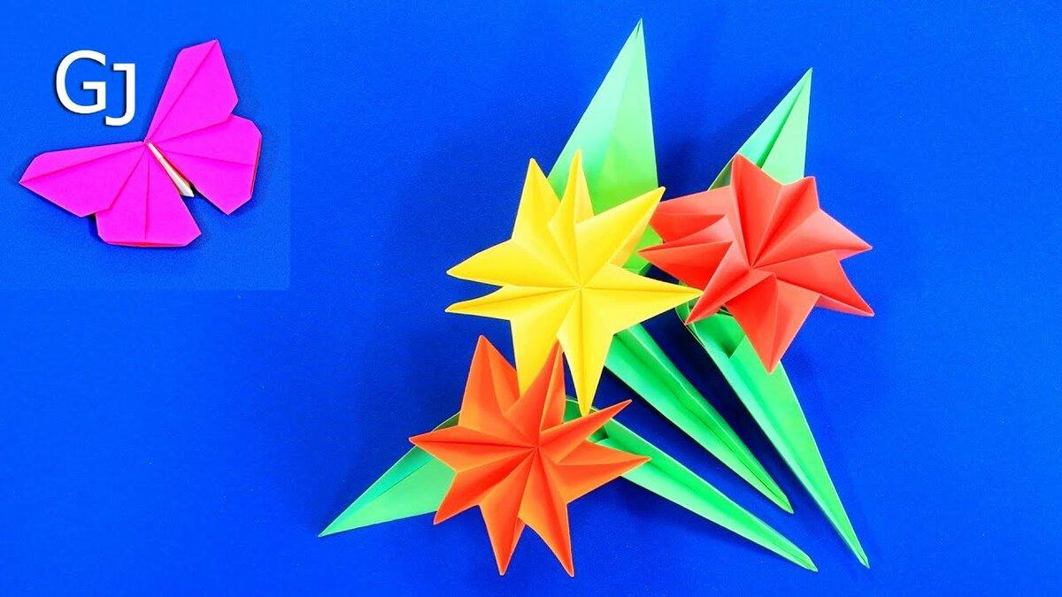 Оригами 8 марта открытки