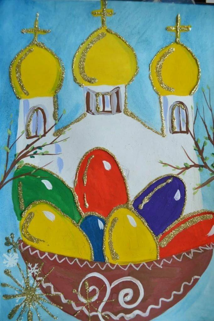 Картинки для дошкольников пасха