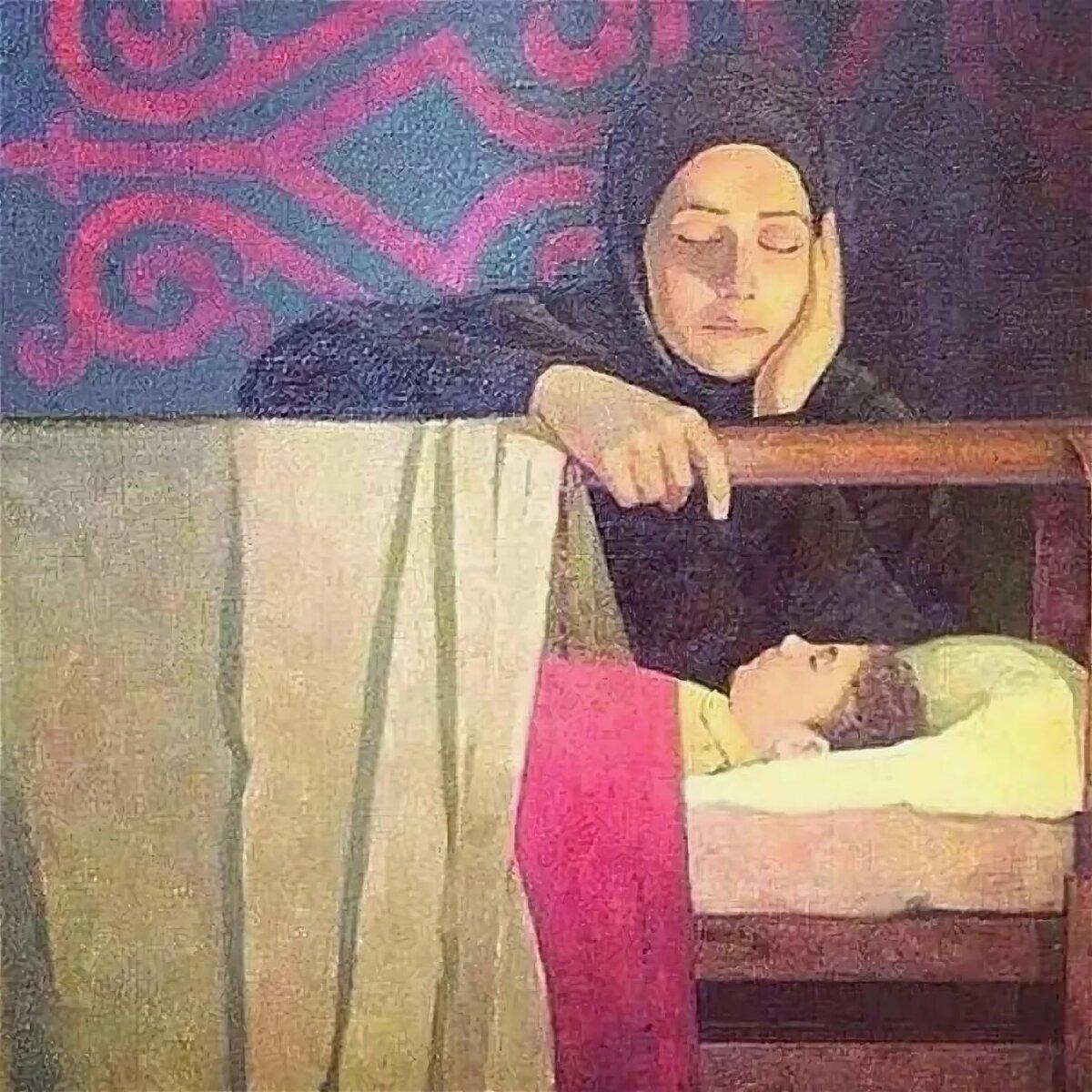 Ромашками, исламский картинки с надписями про маму