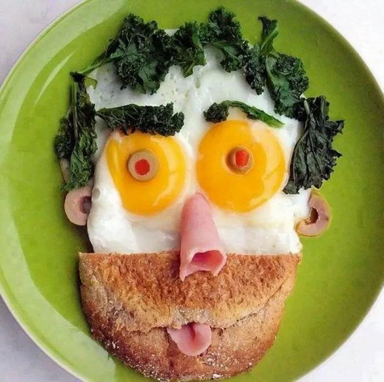 Смешная картинка с едой