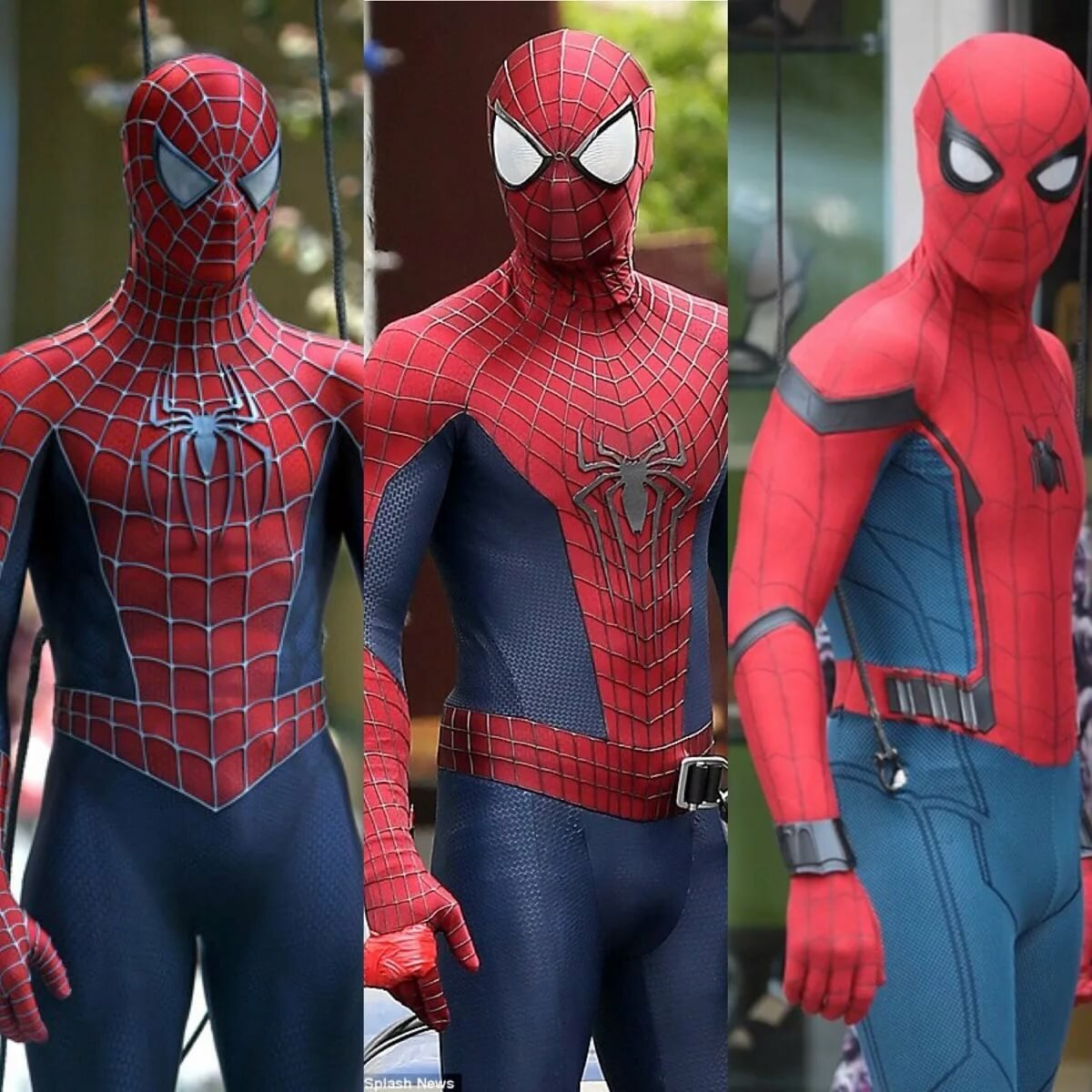 Все кастюмы человека паука картинки