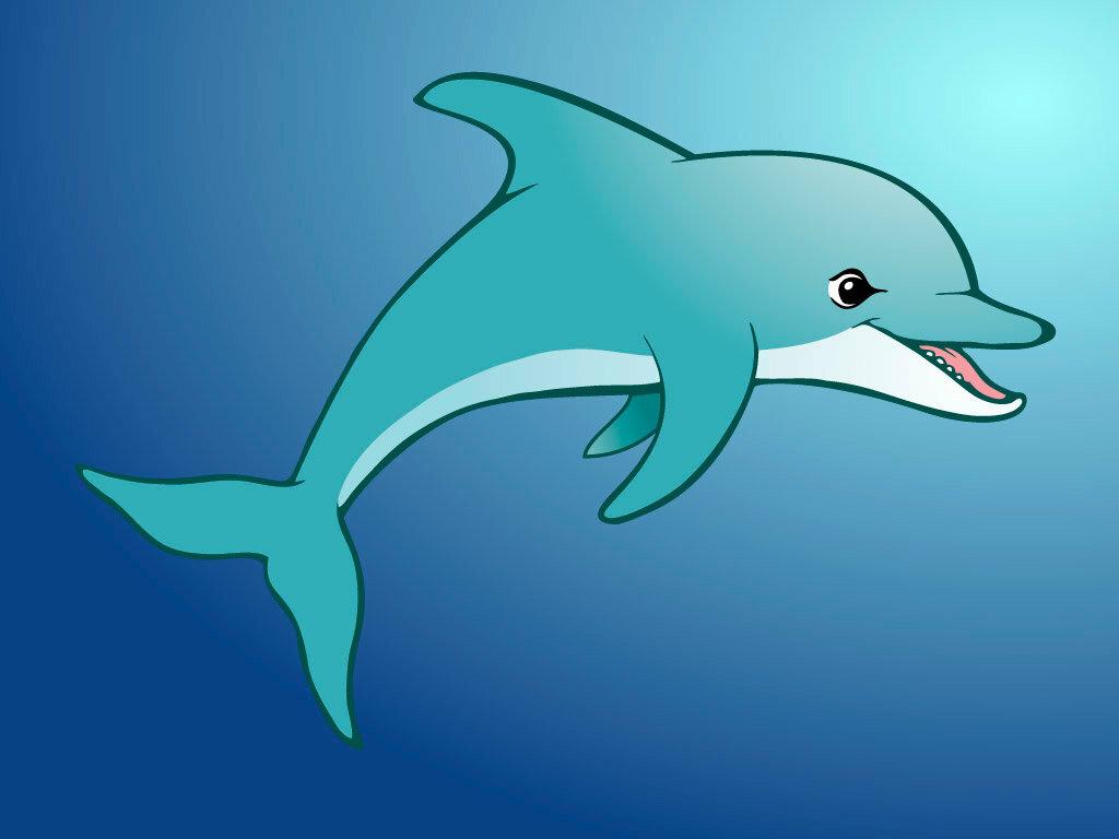 Картинки дельфина детские