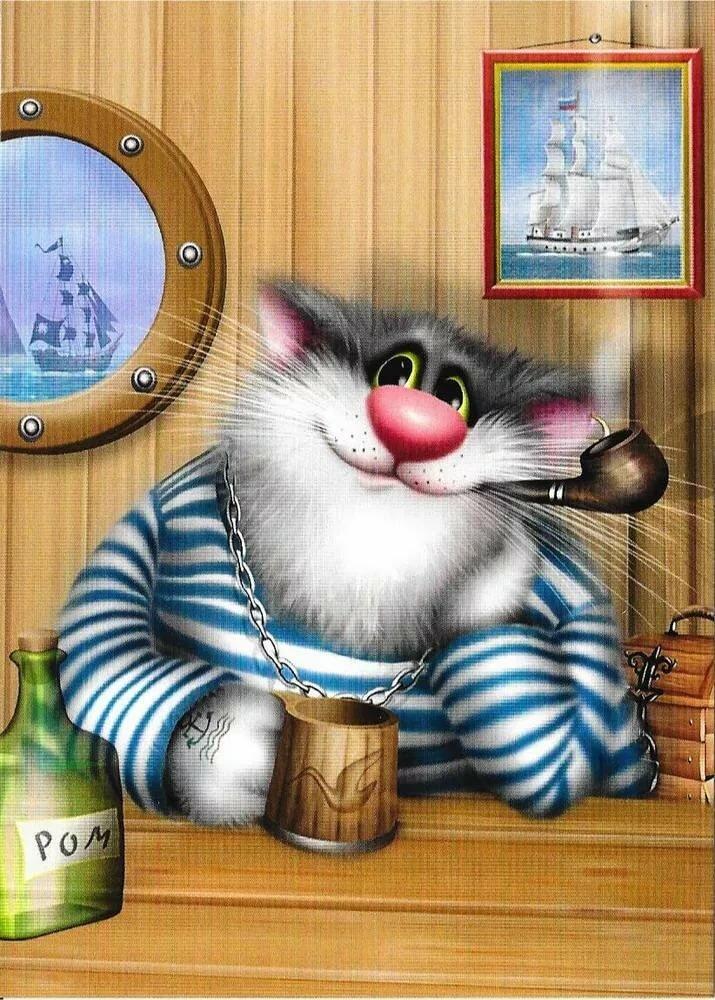 имеет анимационные коты алексея долотова готовые