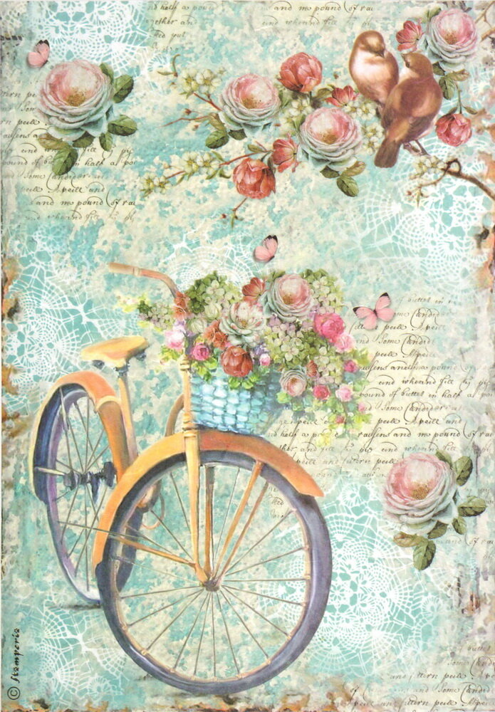Открытку, картинки винтажные велосипеды