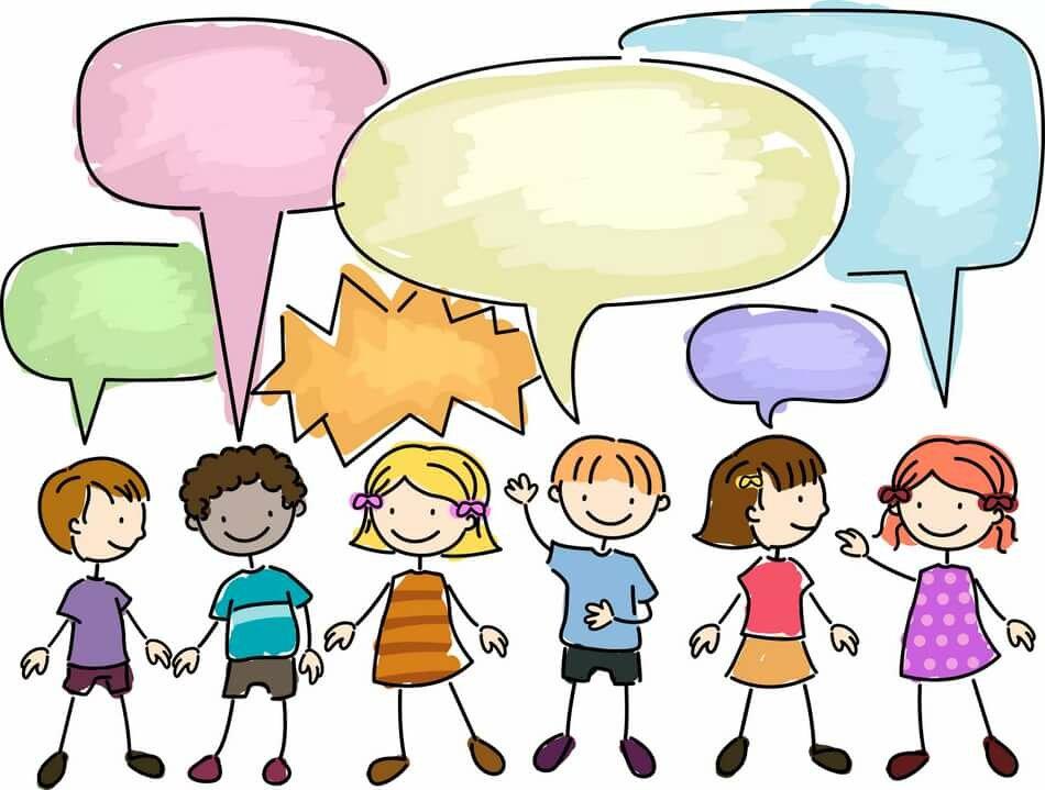 Общение в картинках для детей