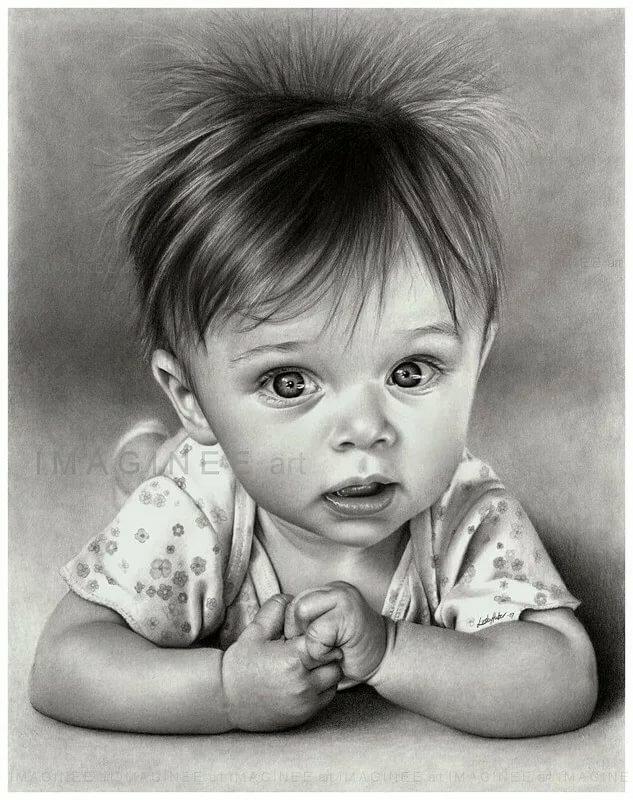 Анимация, малыш картинки красивые нарисованные