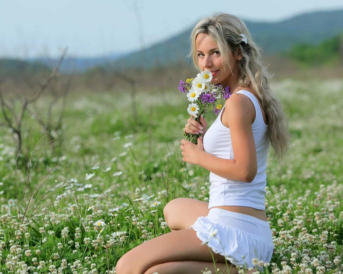 Красивые летние девушки картинки