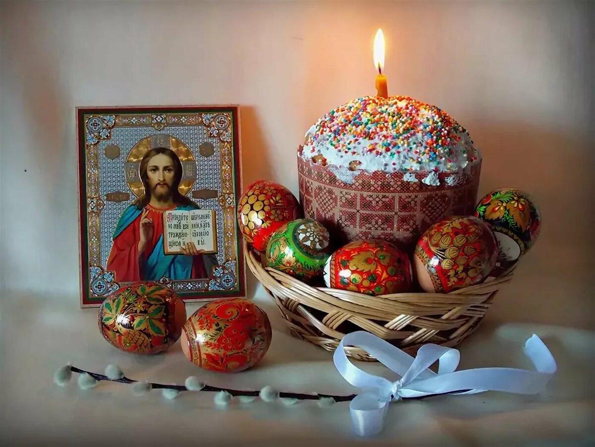 Открытки с днем пасхи святые