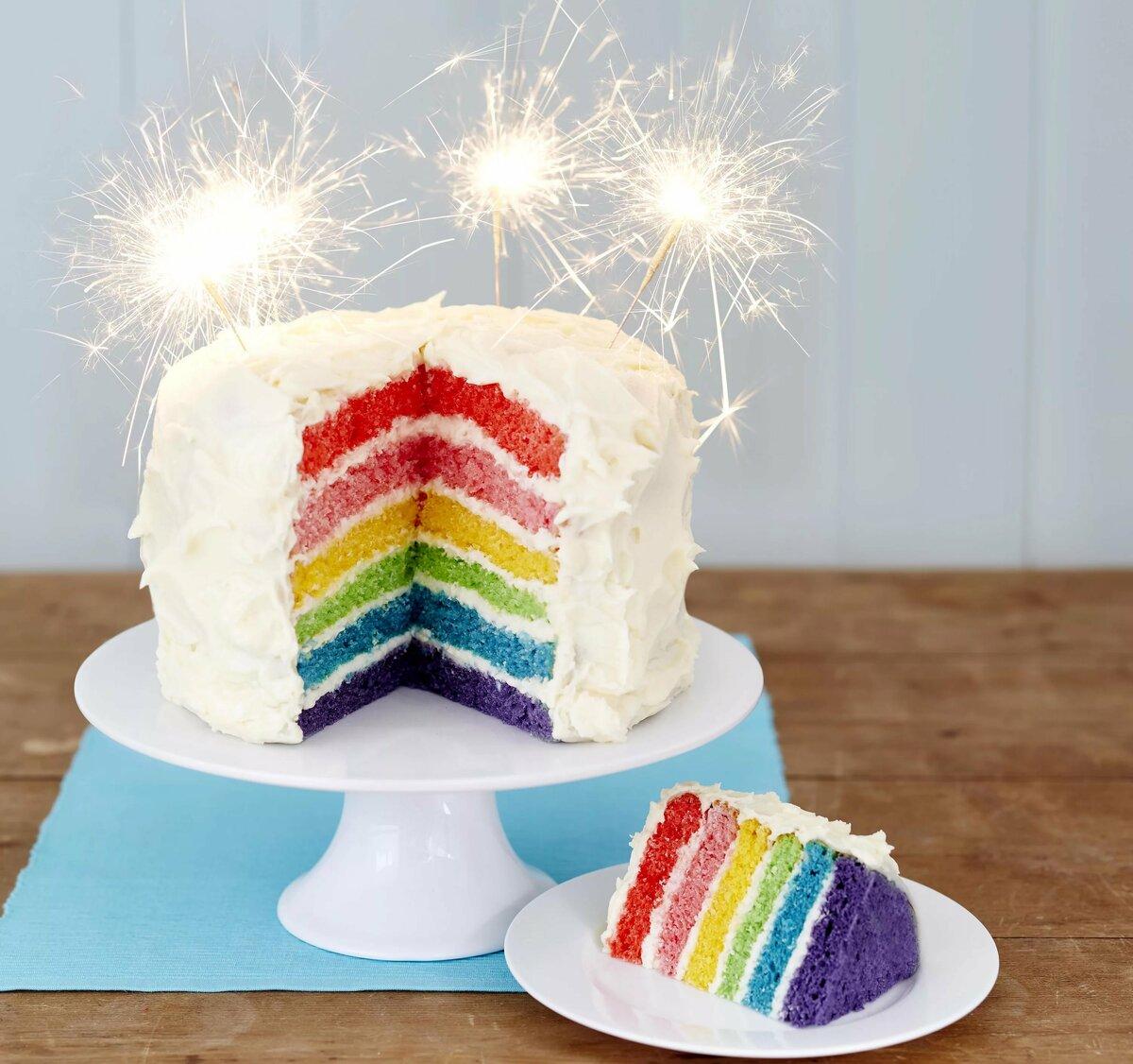 картинки радужного торта хариус, нем часто