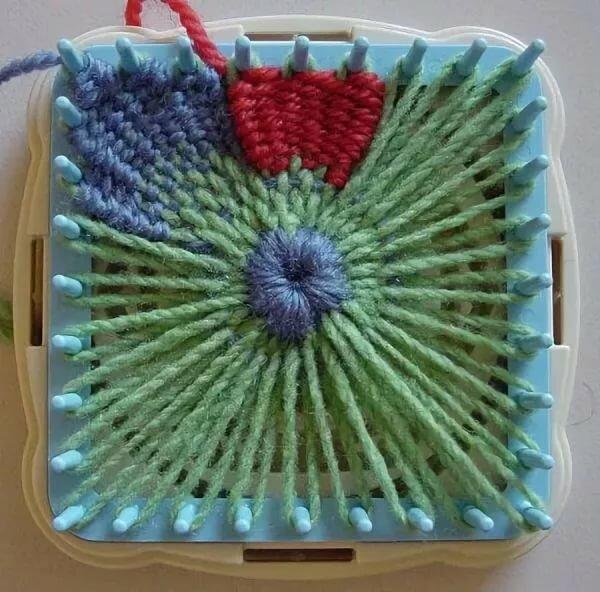 Вязание на тенерифе в картинках