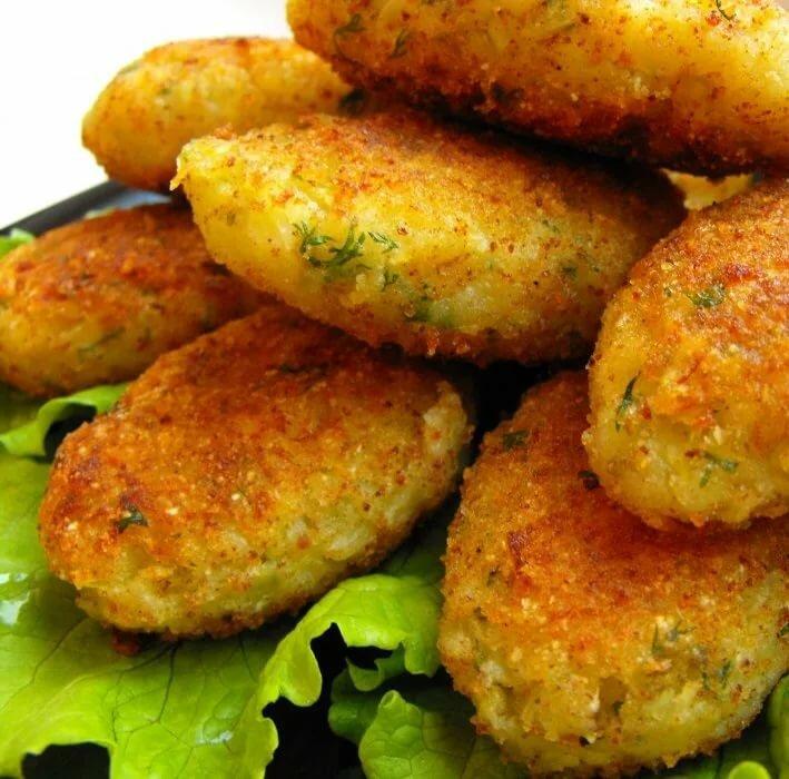 картофельные котлеты в пост рецепты с фото инвентарь