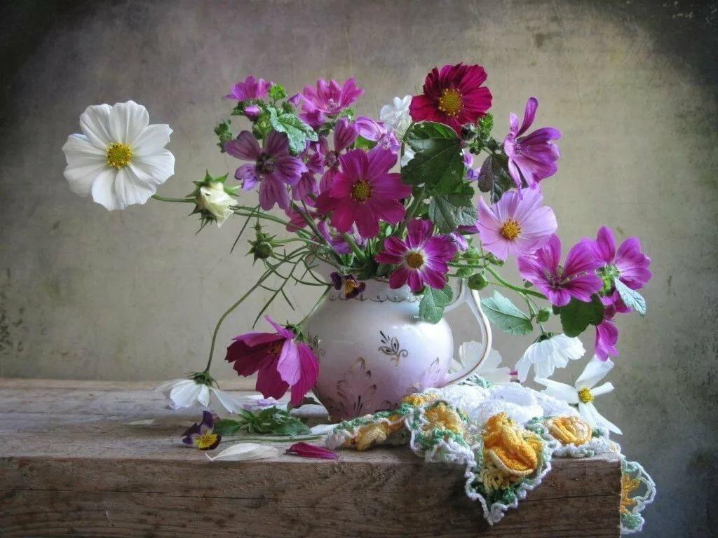 смотреть картинки цветы натюрморт находится