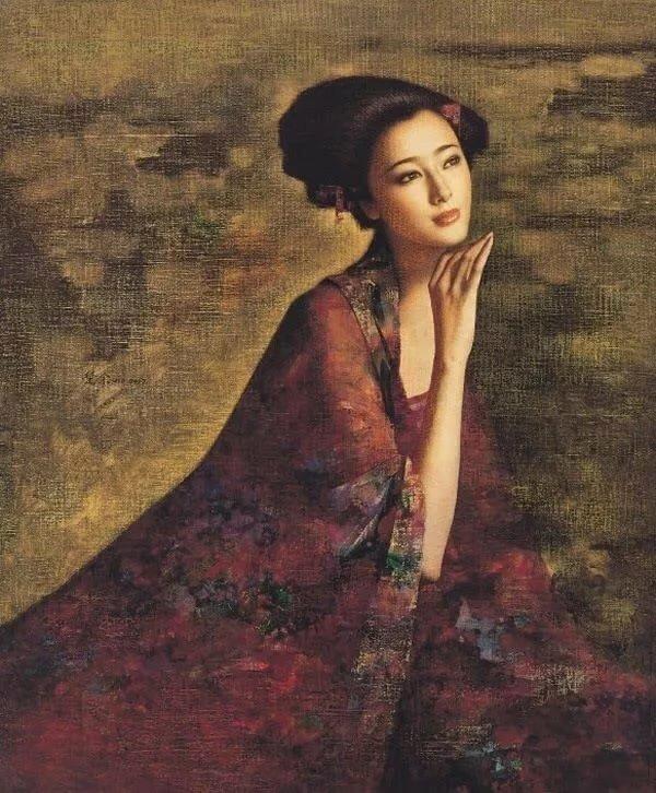 фото китайских картин из волос уникальный
