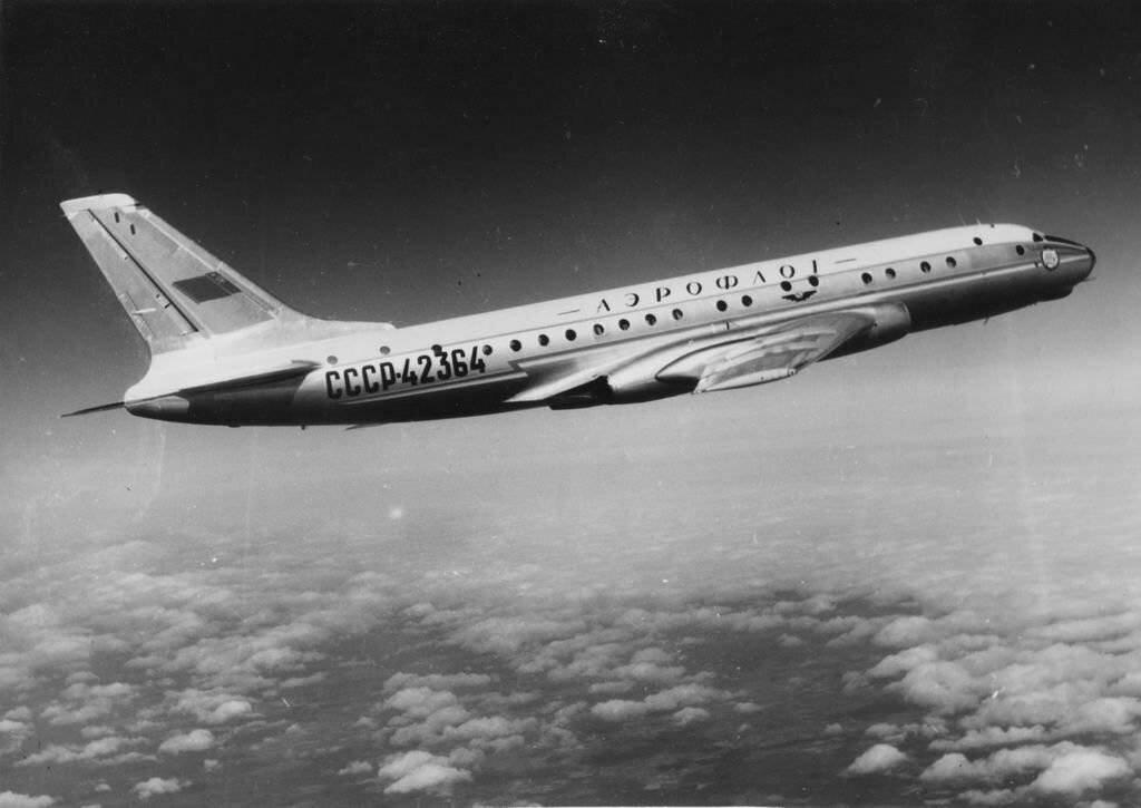 15 сентября 1956 года на трассы Аэрофлота вышел первый советский реактивный пассажирский лайнер «Ту-104»