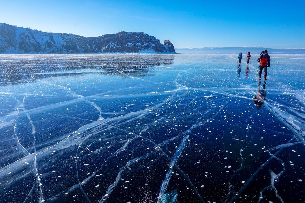 Байкал в феврале фото