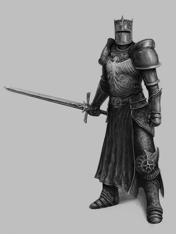 рыцари с картинки левитин пожалуйста