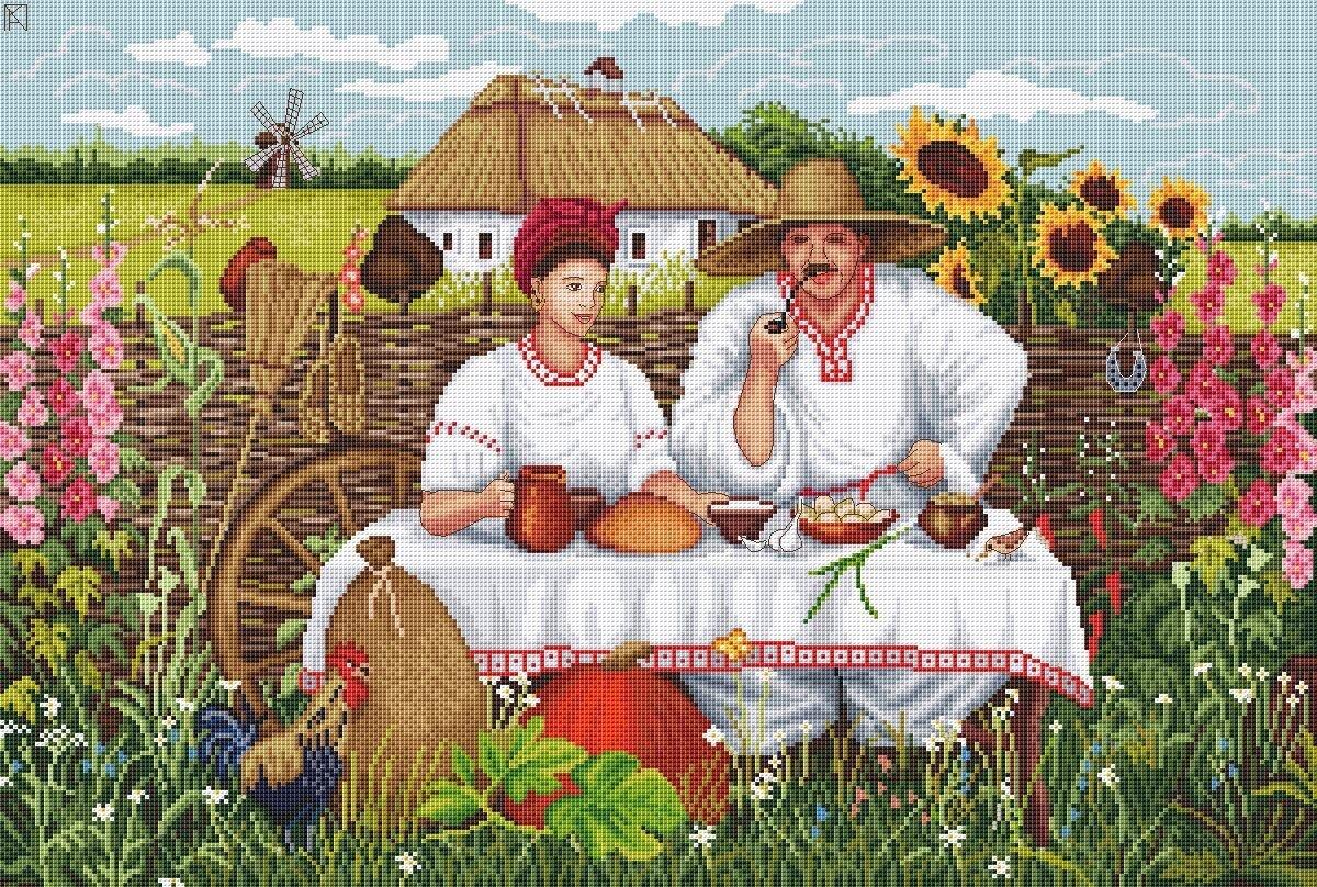карельской украинский колорит картинки урожай