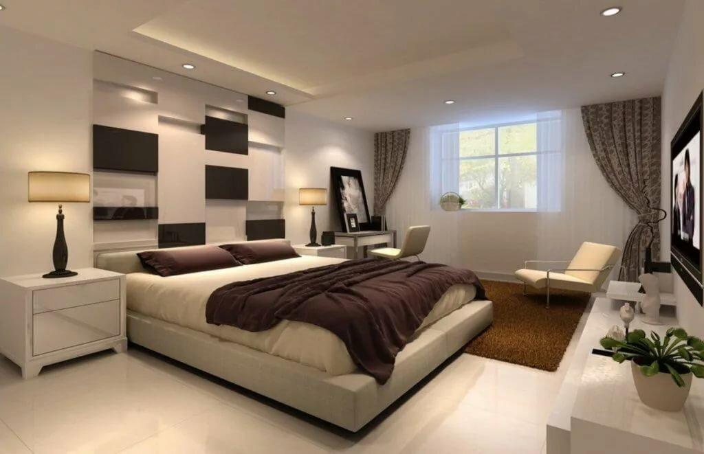 Современная спальня картинка