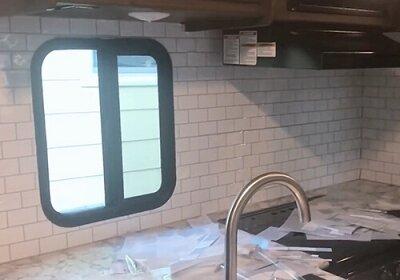 L And Stick Subway Tile Backsplash