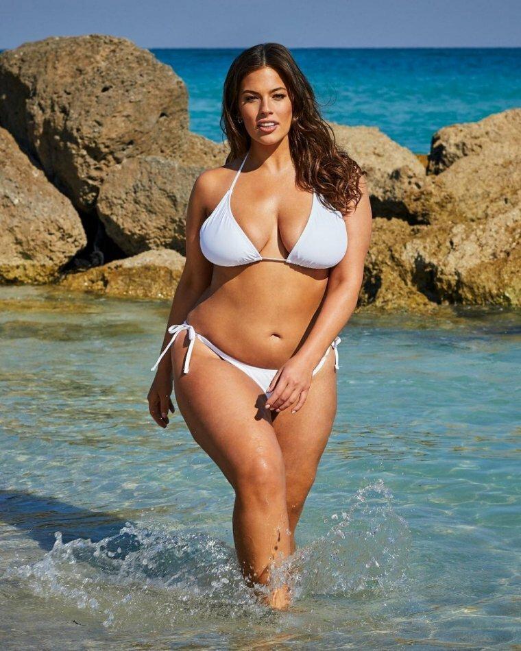 фото толстых женщин голых на пляже - 10