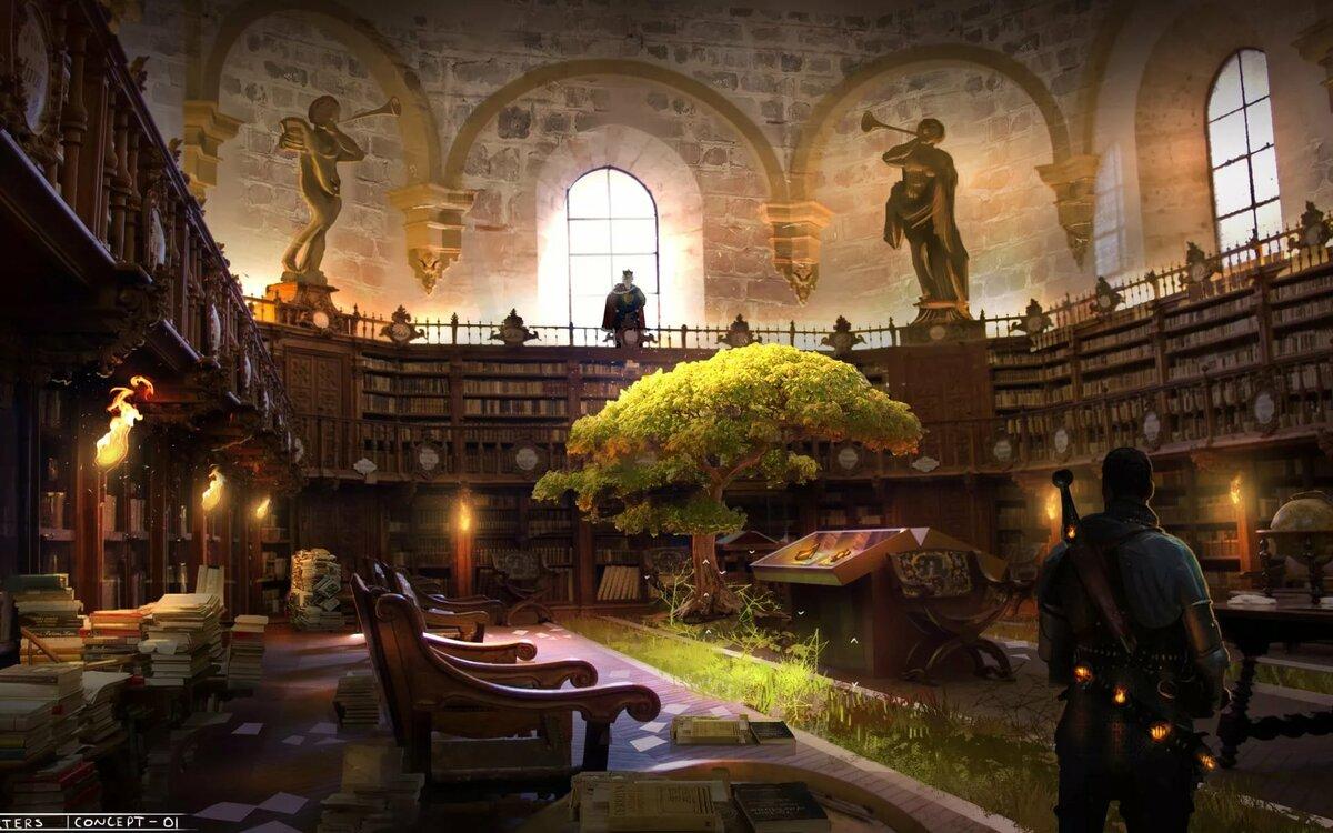 Картинка школы магии