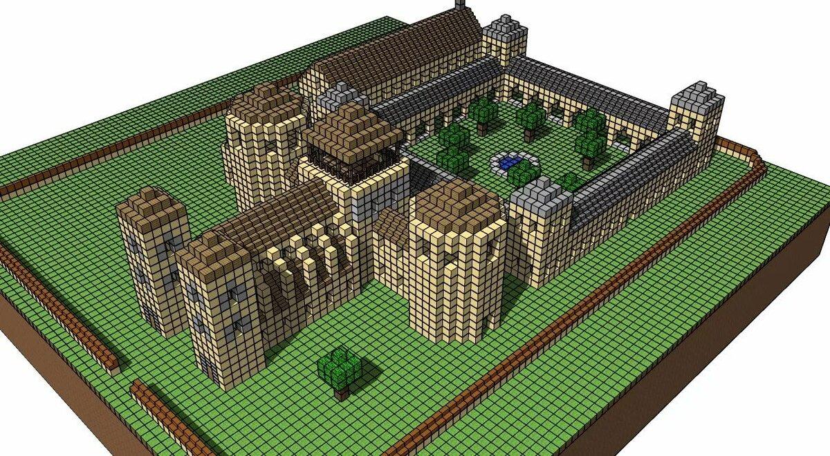 Крепости в майнкрафте схемы для постройки