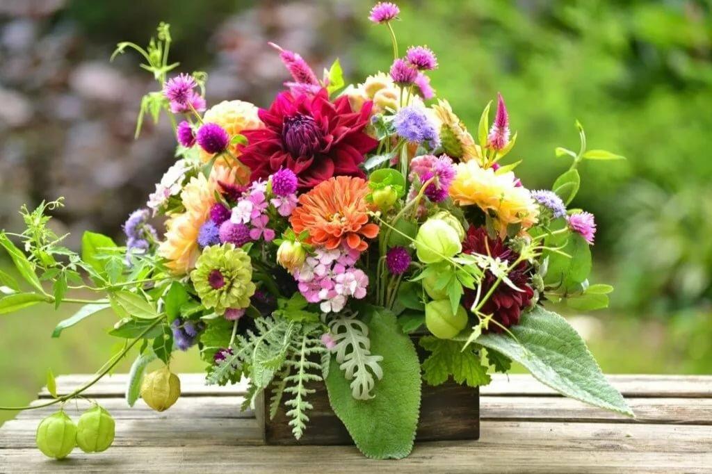 С днем рождения картинка летних цветов