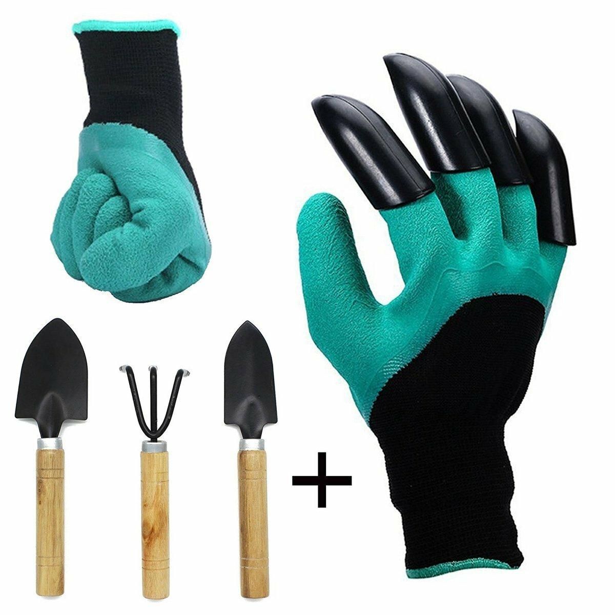 Перчатка для работы в саду и огороде Garden Genie Gloves в Щёлково