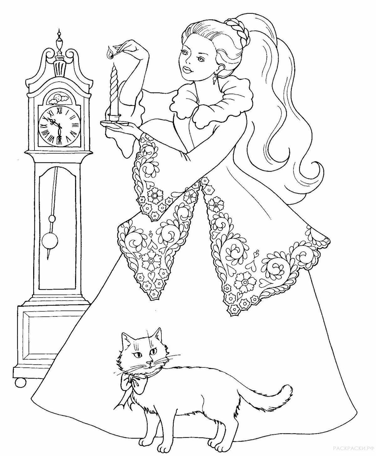 Бокалами анимация, картинки для девочки распечатать