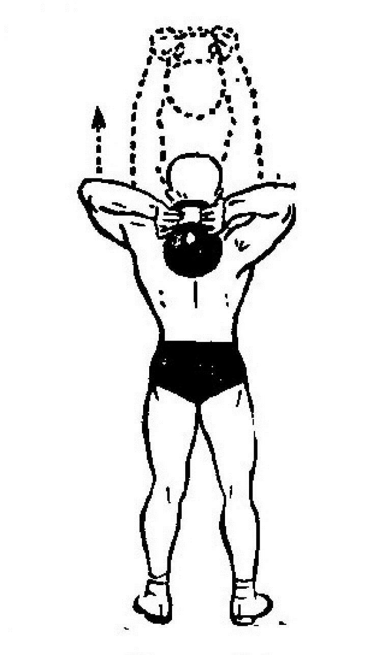 упражнения для мышц с гирей в картинках опять же, смотря