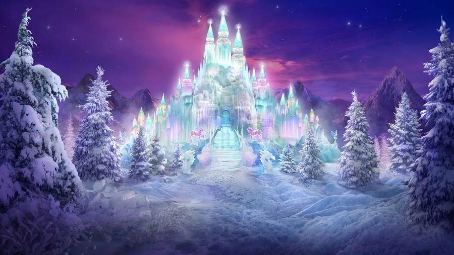 Смешные совы, картинка дворец снежной королевы анимация