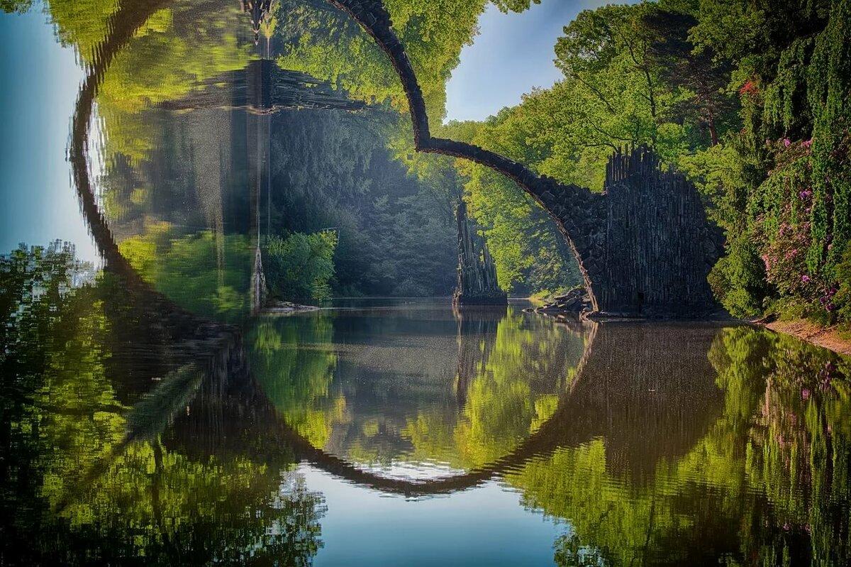Отражение на картинках
