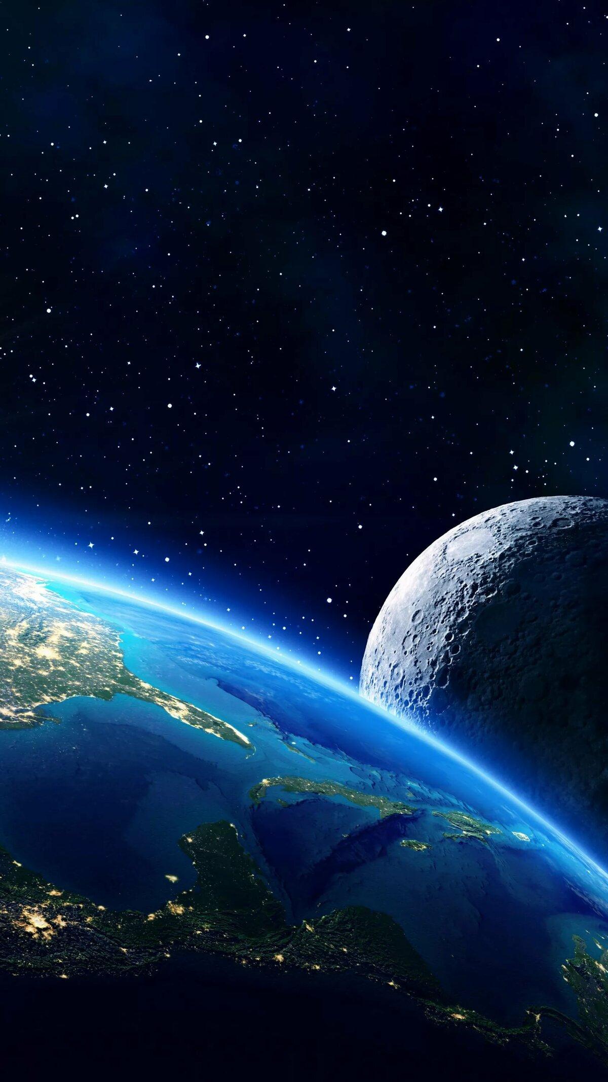 картинки земли из космоса красивые для телефона
