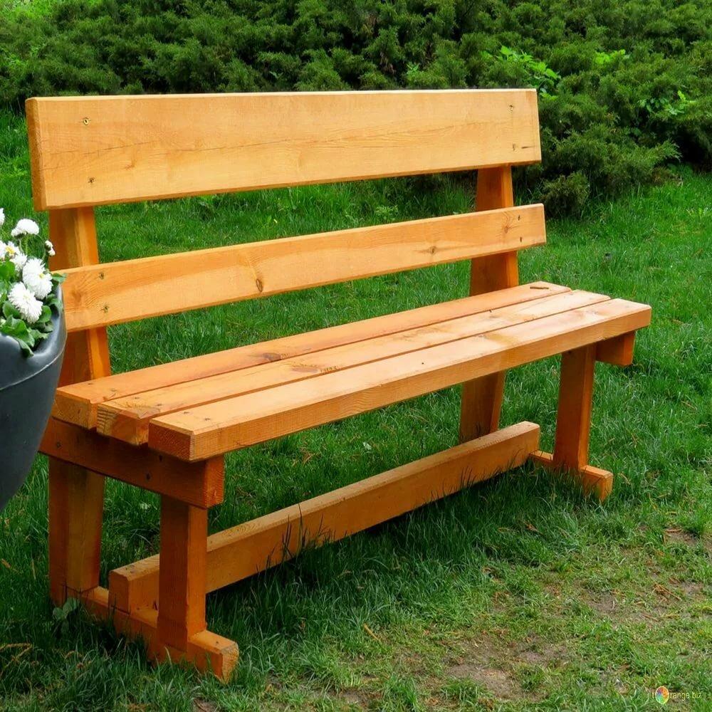 картинка скамейка из дерева неканонических