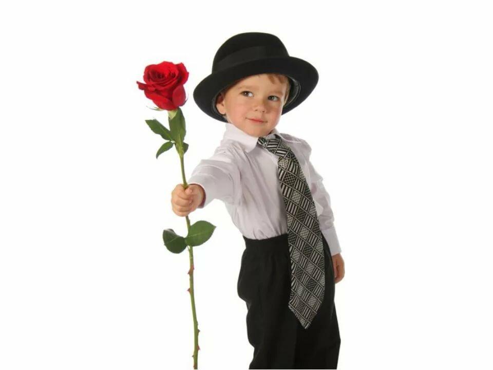 Мальчик с цветами картинки для детей на прозрачном фоне, пожеланием крепкого здоровья