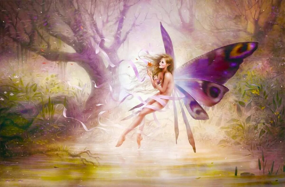 умные картинки с феями и эльфами время