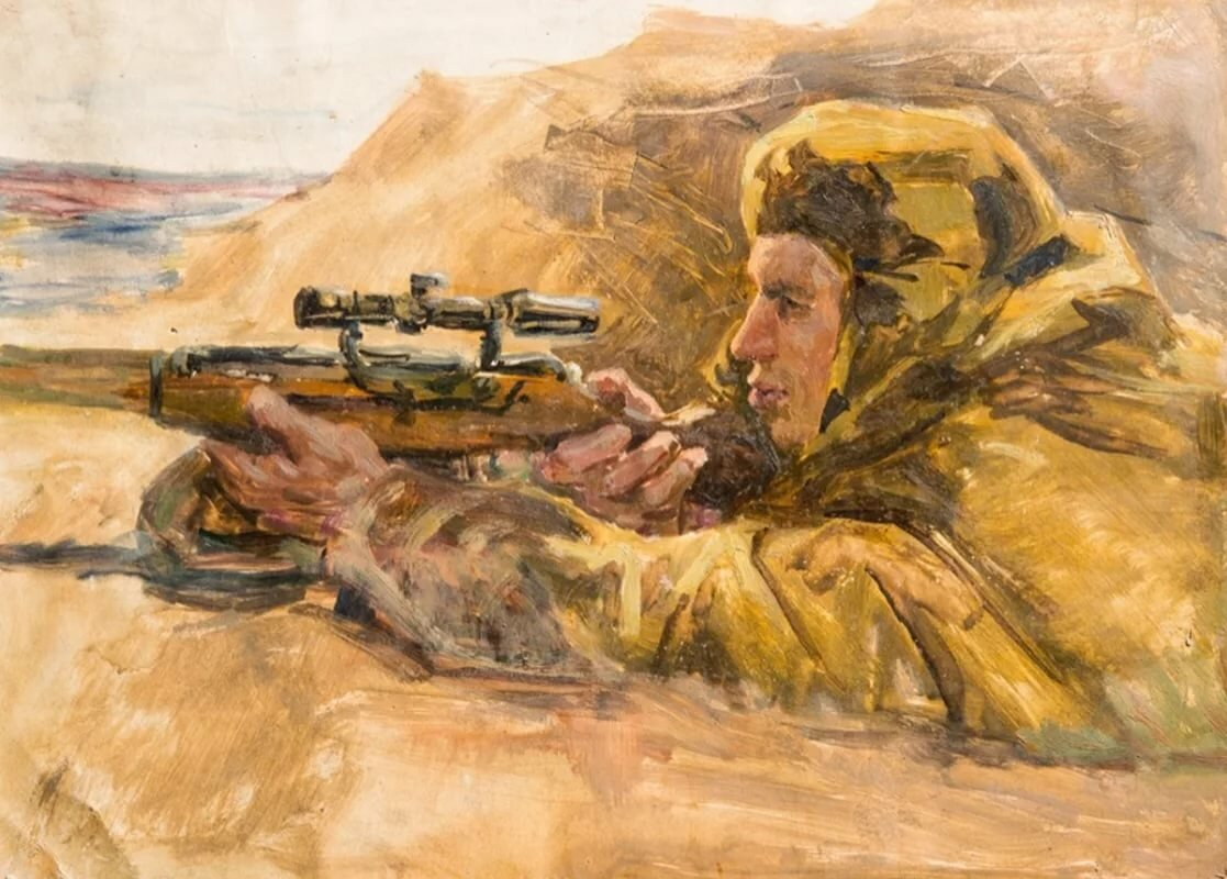военная живопись картинки