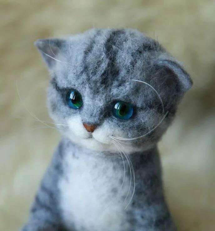 Картинки милые котики мультяшные громко