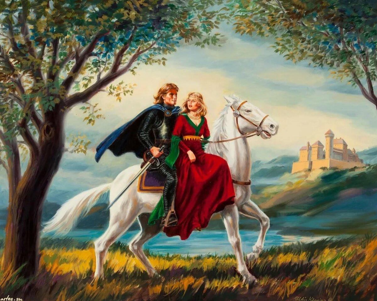 Картинка сказочного рыцаря