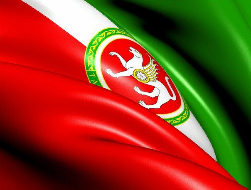 Флаг татарстана с гербом фото