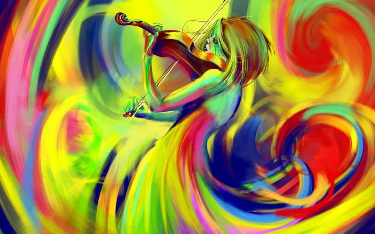 Ярких красок в жизни картинка его