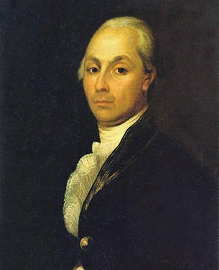 Александр Николаевич Радищев. Автором портрета предположительно является крепостной крестьянин Михайло.