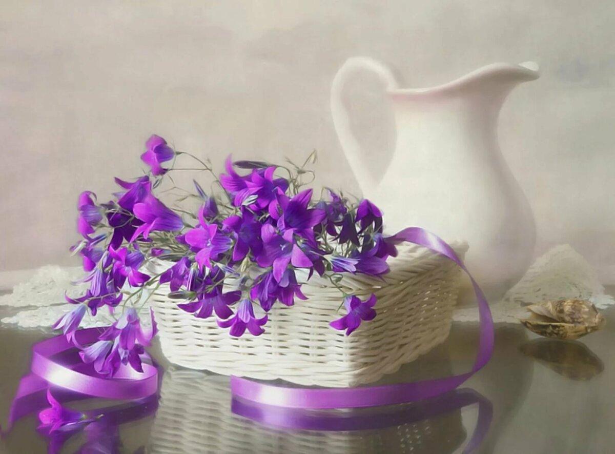 Открытки колокольчики цветы, рождения внука года